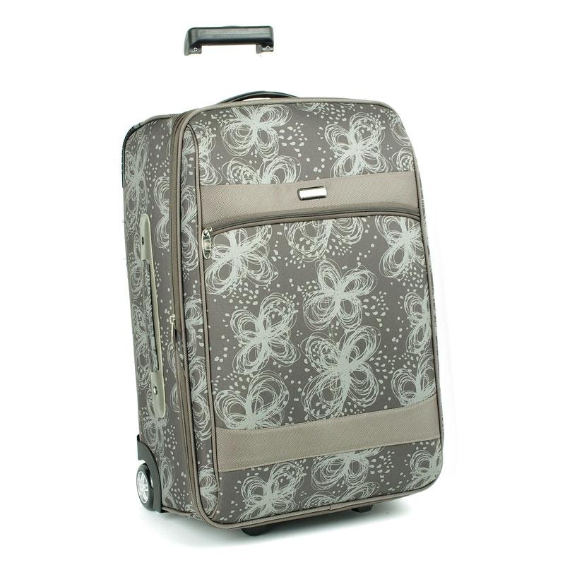 2431 Mała walizka podróżna kabinowa dla kobiety - Airtex szara