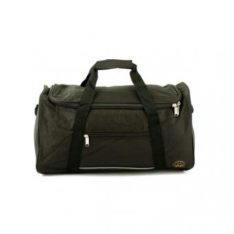 858/75 Duża torba podróżna z materiału do ręki 102l - Airtex czarna