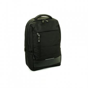 """Plecak biznesowy z kieszenią na laptop 15"""" pas do walizki - Airtex 716"""