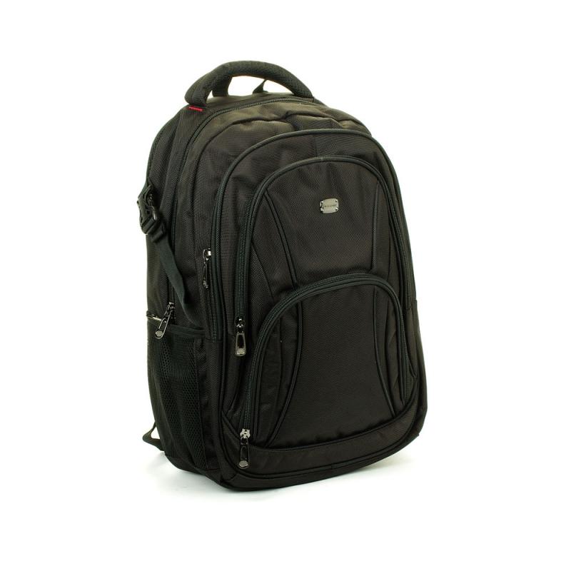 """Plecak biznesowy z kieszenią na laptopa 17"""" - David Jones PC006 czarny"""