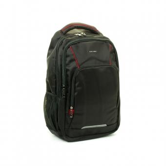 """Plecak biznesowy z kieszenią na laptopa 15"""" - David Jones PC026 czerwony"""