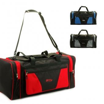 211 Duża torba podróżna do ręki materiałowa 80l - Besa