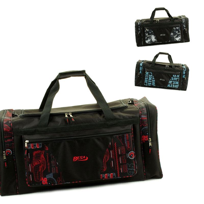 215 Mała torba podróżna podręczna materiałowa z nadrukiem - Besa