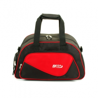 261 Torba sportowa z kieszenią na buty - Besa czerwona