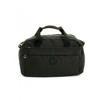14149 Torba podręczna podróżna z mocowaniem do walizki - Suitcase czarna