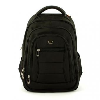 """Plecak biznesowy z kieszenią na laptopa 15"""" - David Jones PC005 czarny"""