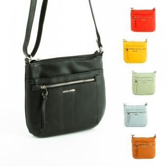 6214-2 Małe torebki na długim pasku listonoszki - David Jones
