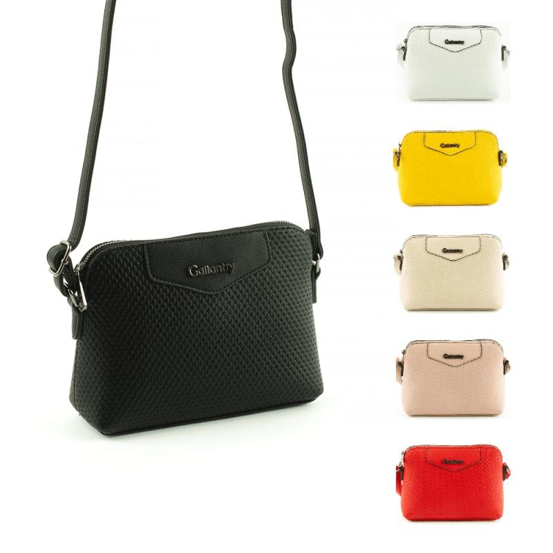G7226-3 Małe torebki pikowane listonoszki na pasku - Gallantry