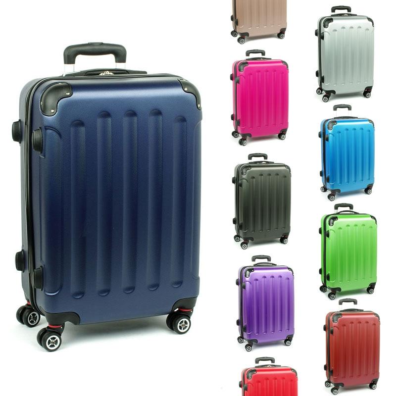 218 Duże walizki na czterech podwójnych kółkach ABS - ORMI