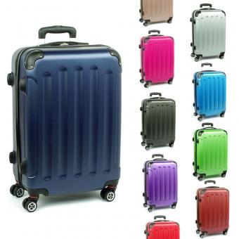 218 Małe walizki kabinowe na 4 podwójnych kółkach ABS - ORMI