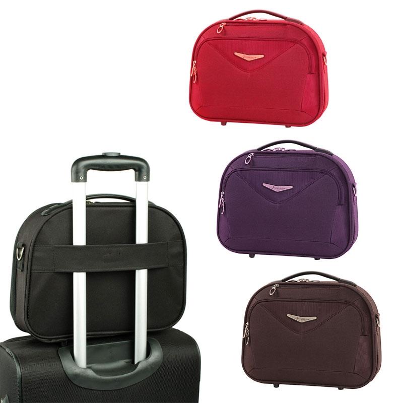 Kuferki na kosmetyki, kosmetyczki podróżne owalne - Madisson 44835A