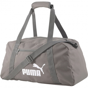 Damska torba sportowa na fitness trapez Puma Phase Sports szara