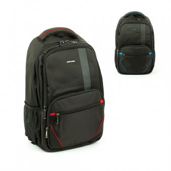 Elegancki plecak na laptopa 17 cali czarny - David Jones PC024
