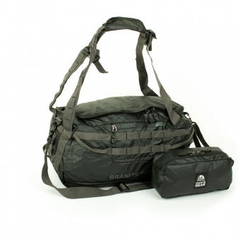 Torbo-plecak 2w1 torba podróżna z pokrowcem-kosmetyczką - Granite Gear czarny
