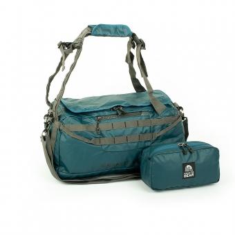 Torbo-plecak 2w1 torba podróżna z pokrowcem-kosmetyczką - Granite Gear niebieski morski