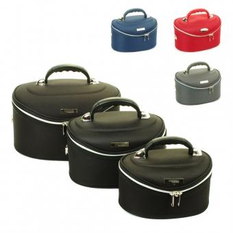 Średnie kuferki na kosmetyki, kosmetyczki podróżne - Inter-Vion