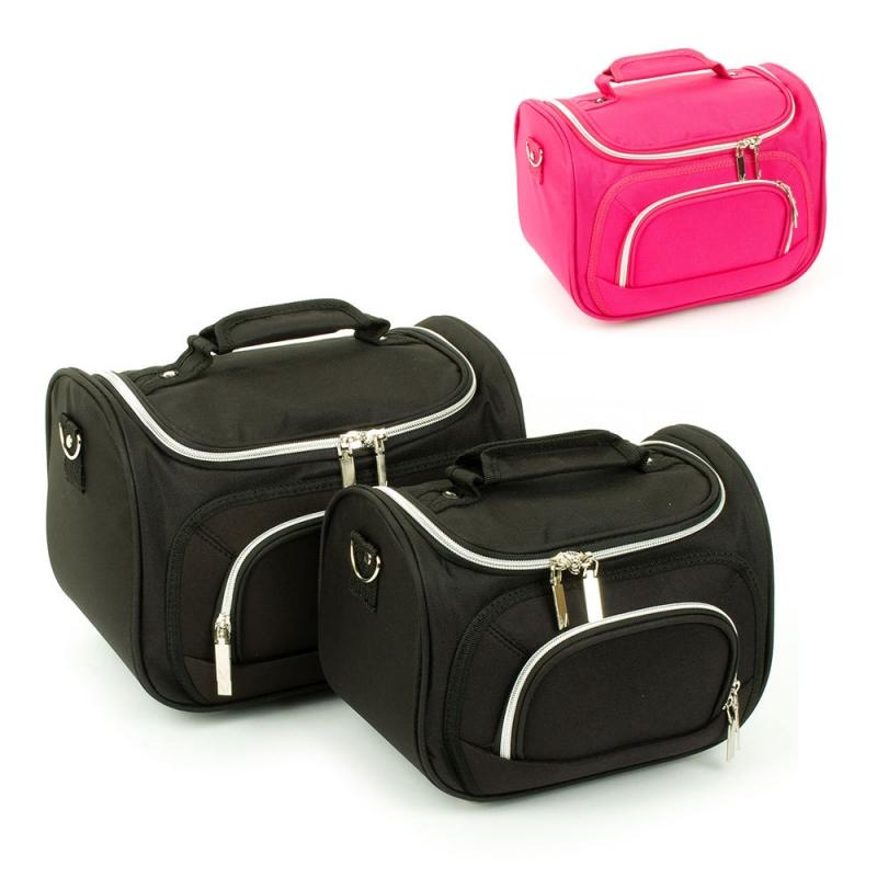 Średnie kuferki na kosmetyki kosmetyczki podróżne do walizki Inter-Vion