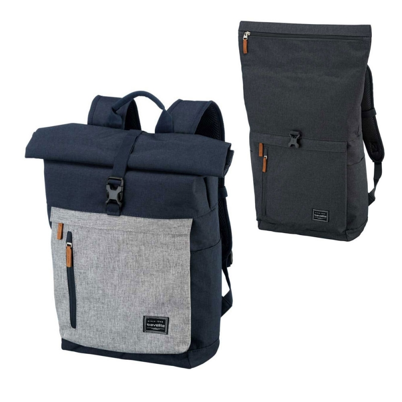 Plecak miejski rolowany na laptopa 15'6 damski męski Travelite