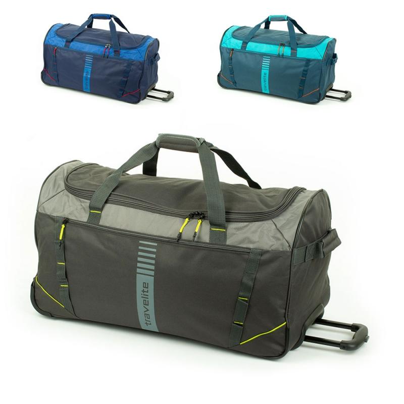 Torby podróżne na kółkach 80l miękkie Travelite Basics Active 006281