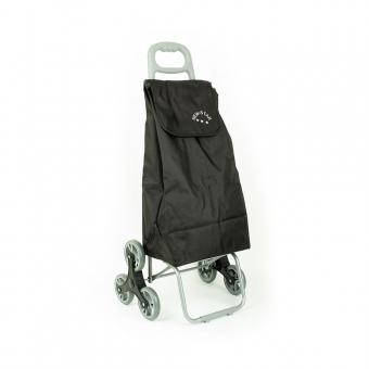 Wózek torba na zakupy na kółkach sześciokołowa składana Airtex 102 czarna