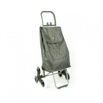 Wózek torba na zakupy na kółkach sześciokołowa składana Airtex 037 szara