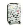 Mała kolorowa walizka na 4 kółkach dla dzieci młodzieżowa 96820Y