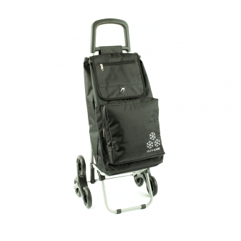 Torba wózek na zakupy na kółkach sześciokołowy - Airtex 031 czarny