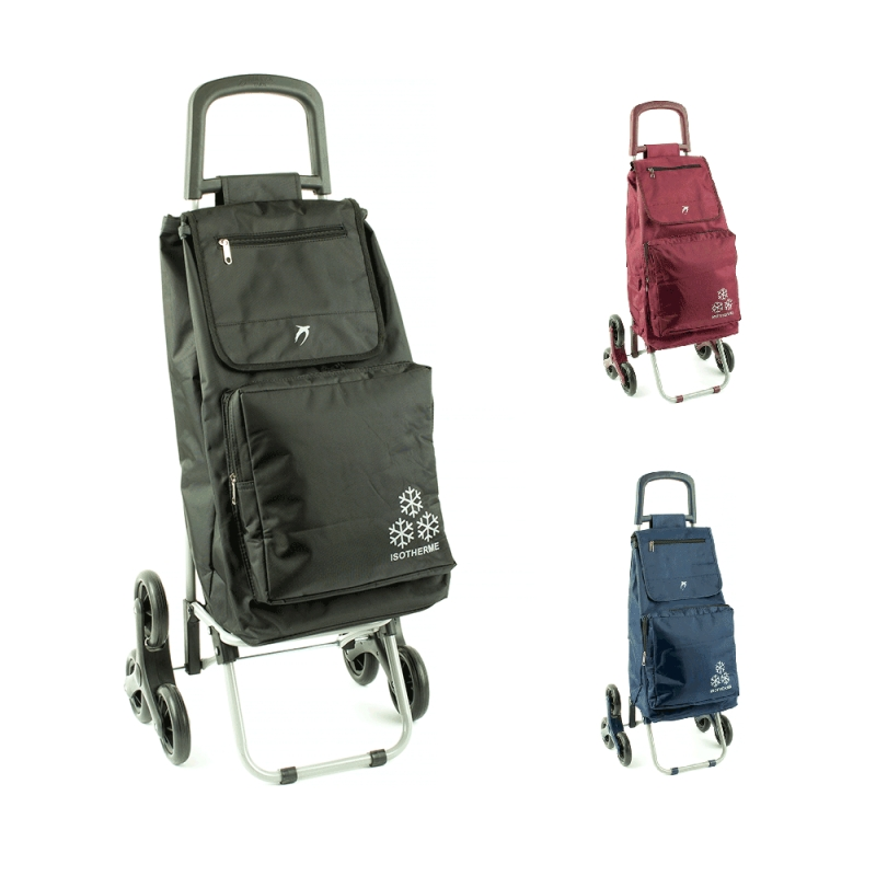 Torba wózek na zakupy na kółkach sześciokołowy - Airtex 031