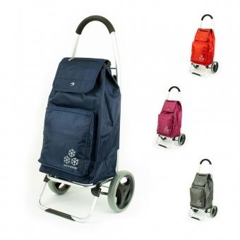 Torba wózek na zakupy na dużych kółkach z termoizolacją Airtex 026