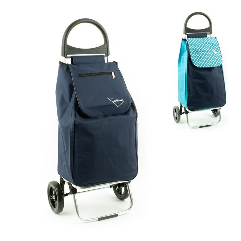 Wózek na zakupy torba na kółkach lekki, składany Aurora 125