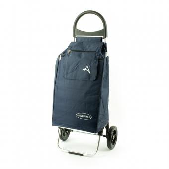 Wózek na zakupy torba na kółkach z kieszenią termiczną Aurora 126 granatowy