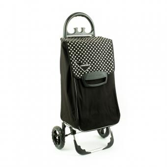 Wózek na zakupy torba na kółkach duży usztywniony 60l AURORA 131 czarny
