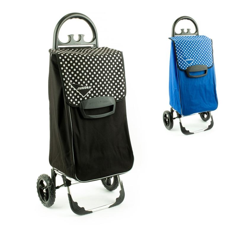 Wózek na zakupy torba na kółkach duży usztywniony 60l AURORA 131