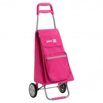 Wózek na zakupy torba na kółkach lekki składany GIMI Argo różowy