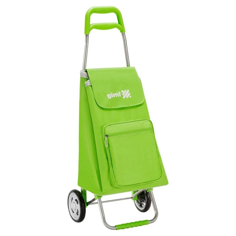 Wózek na zakupy torba na kółkach lekki składany GIMI Argo zielony