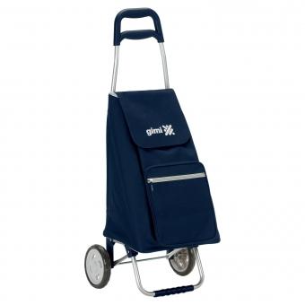 Wózek na zakupy torba na kółkach lekki składany GIMI Argo granatowy