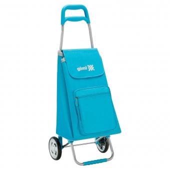 Wózek na zakupy torba na kółkach lekki składany GIMI Argo niebieski