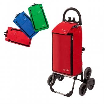 Wózek na zakupy trójkołowy torba na kółkach na schody AURORA 109