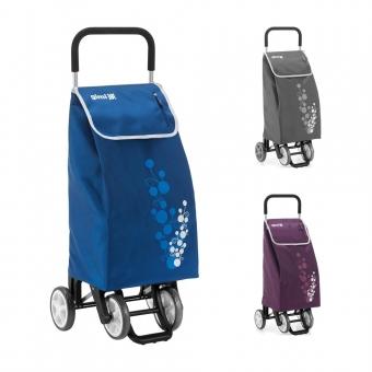 Torba wózek na zakupy na czterech kółkach do pchania GIMI Twin