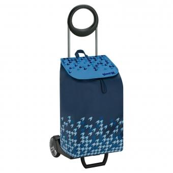 Wózek na zakupy bagażowy torba na kółkach 2w1 GIMI Ideal granatowy