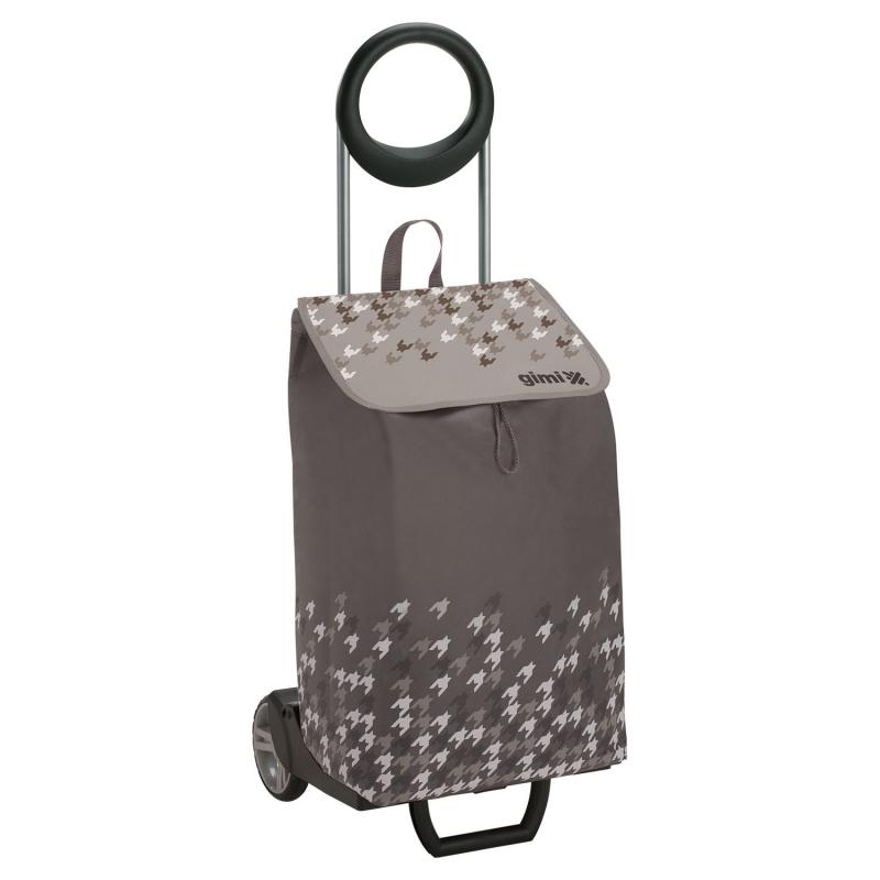 Wózek na zakupy bagażowy torba na kółkach 2w1 GIMI Ideal szary