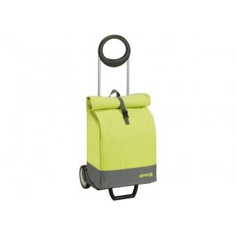 Wózek na zakupy bagażowy torba na kółkach 2w1 GIMI Marine zielony jasny