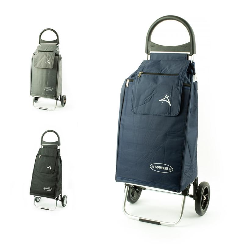 Wózek na zakupy torba na kółkach z kieszenią termiczną Aurora 126