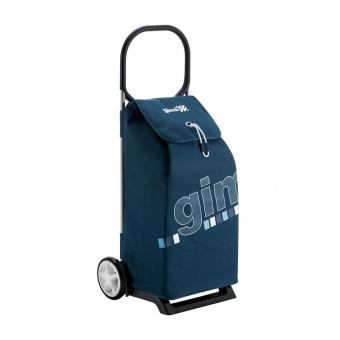 Wózek na zakupy torba na kółkach lekka pojemna 50l GIMI Italo GIMI Italo granatowy