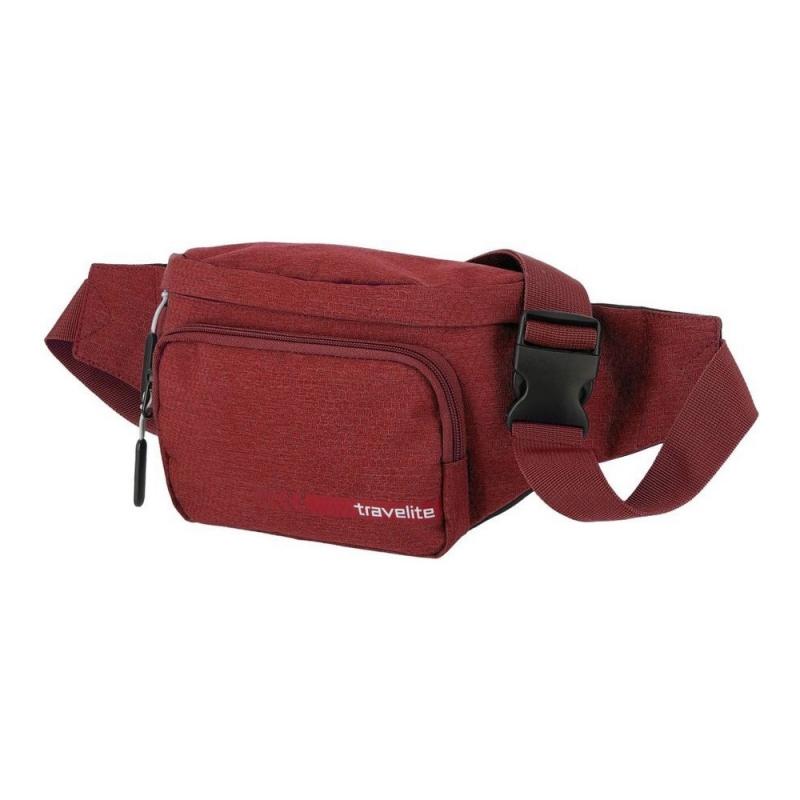 Saszetka nerka, torebka na pas biodrowy Travelite 006919 czerwona