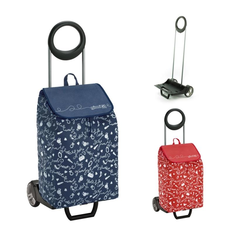 Torba wózek na zakupy na kółkach składana GIMI Easy