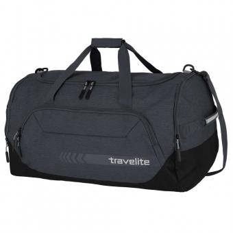 Duża torba podróżna do ręki XL z kieszenią na buty 120l Travelite  szara