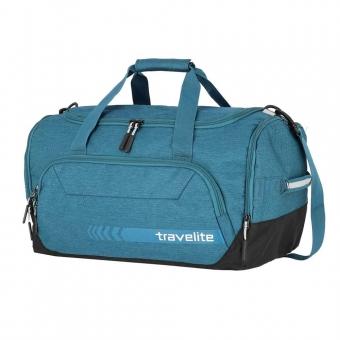 Torba podróżna do ręki weekendowa z kieszenią na buty 45l Travelite niebieska