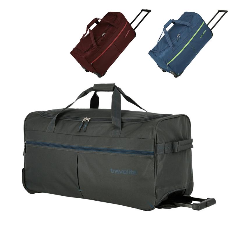 Torba podróżna na kółkach materiałowa 80l Travelite Basic