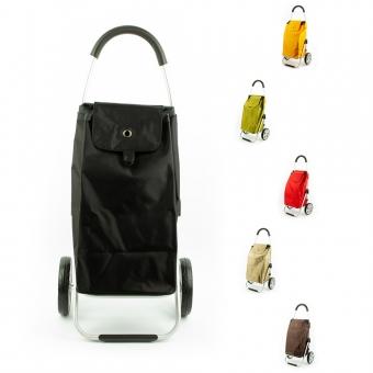 Wózek torba na zakupy na dużych kółkach składany lekki Madisson 32029